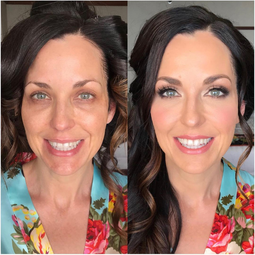 Hawaii Wedding Makeup
